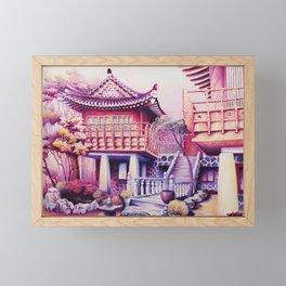 Teahouse Framed Mini Art Print
