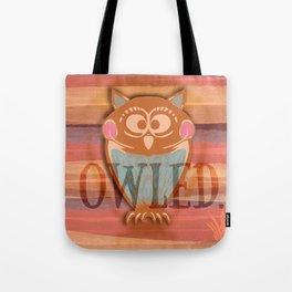 OWLED. Tote Bag