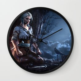 The Witcher 3 Wall Clock
