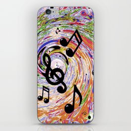 Music Notes iPhone Skin