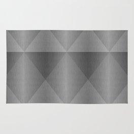 Modern Industrial Harlequin Tile Pattern Rug