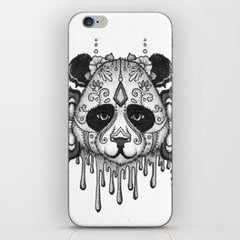 Blacksilver Panda Spirit iPhone Skin