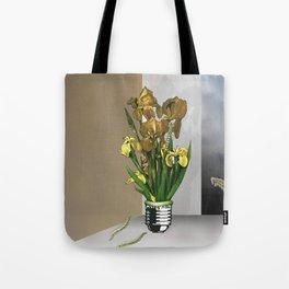 Das Licht der Pflanze Tote Bag