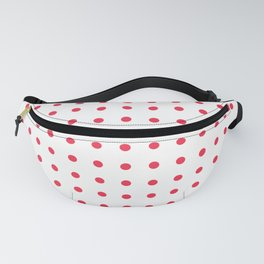 Red Polka Dots Fanny Pack
