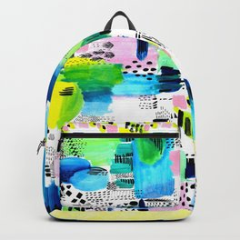 Playful Collage Backpack