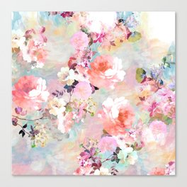 Love of a Flower Canvas Print