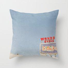 Wonder Bread Throw Pillow