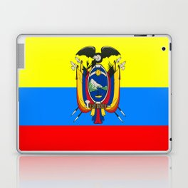 Flag of Ecuador Laptop & iPad Skin
