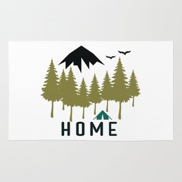 Wilderness Home Rug