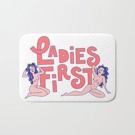 Ladies First Bath Mat