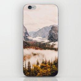 Amazing Yosemite California Forest Waterfall Canyon iPhone Skin