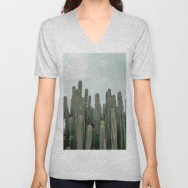 Cactus Jungle Unisex V-Neck