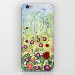 Blooms & Kisses iPhone Skin