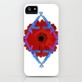 Flower Of Death iPhone Case