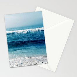 aqua foamy sea Stationery Cards