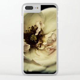 The Great Flower Consortium - Member No. 136A Clear iPhone Case