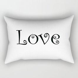 Love Always Rectangular Pillow