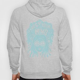 Open Your Mind in Mint Hoody