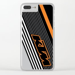 KTM Line Clear iPhone Case