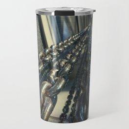Chained Elevator Shaft Travel Mug