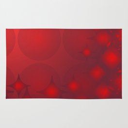 Red Planets Rug