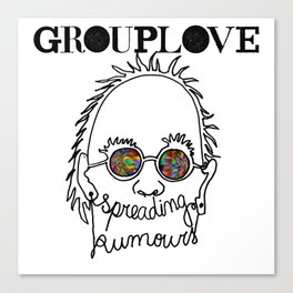 Spreading Rumours Grouplove Canvas Print