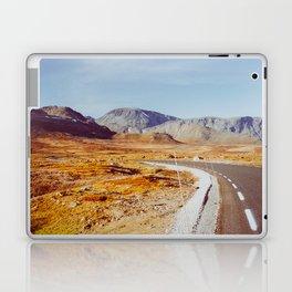 Road Tripping in Scandinavia - Jotunheimen NP on Sunny Fall Day Laptop & iPad Skin