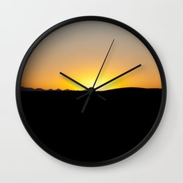 the sun will come out tomorrow Wall Clock