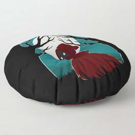 Red Riding Hood 2 Floor Pillow