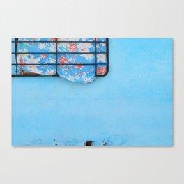 38. Trouble Blue, Cuba Canvas Print