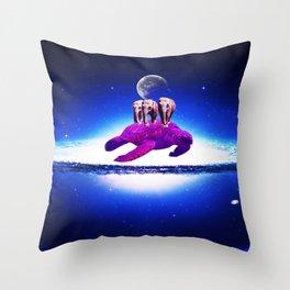 Earth dream Throw Pillow