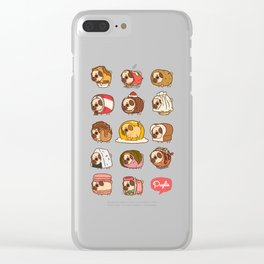 Puglie Food Collection 2 Clear iPhone Case