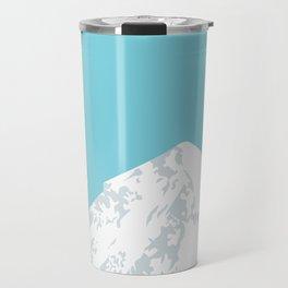 Snow Capped Mountain Travel Mug