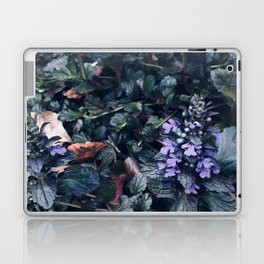 Proud Little Purple Flowers Laptop & iPad Skin
