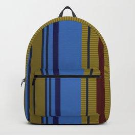 Vertical Stripes # 2 Backpack