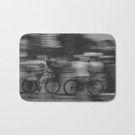 cycling race Bath Mat