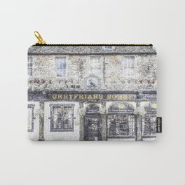 Greyfriars Bobby Pub Snow Carry-All Pouch