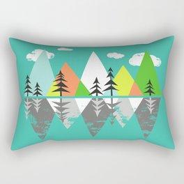 The Crystal Lake Rectangular Pillow