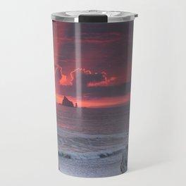 Rialto Beach Sunset Travel Mug