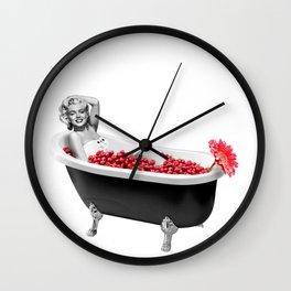 sweet bath Wall Clock