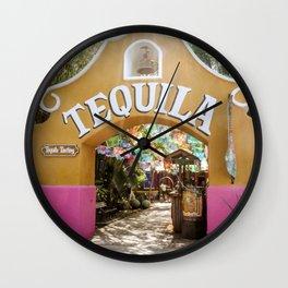 Tequila Tasting Wall Clock