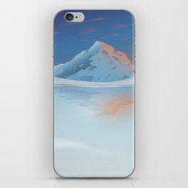 Antartic Lovers iPhone Skin