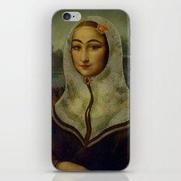 Persian mix: The Mona Lisa iPhone Skin