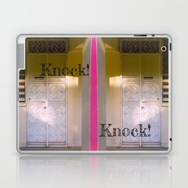 KNOCK KNOCK! Laptop & iPad Skin