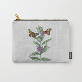 Monarch Butterfly Life Cycle Carry-All Pouch