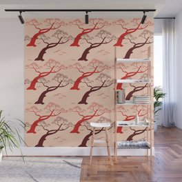 Bonsai Ornamental Trees Wall Mural