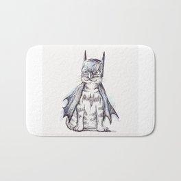 Bat Cat Bath Mat
