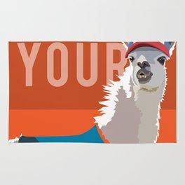 Who's Your Llama Rug
