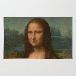 Mona Lisa Classic Leonardo Da Vinci Painting Rug
