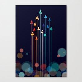Rocket Race! Canvas Print